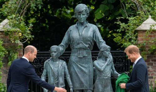 Prince Harry 'sent message' to Royal Family after quickly leaving Diana statue unveiling
