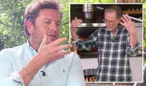 'Are you not allowed to do anything!?' Paul Rankin blasts James Martin 'you're losing it!'