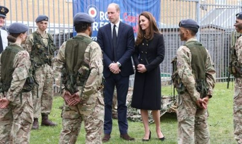 Three cheers for Philip! Kate William make poignant visit with touching tribute to Duke
