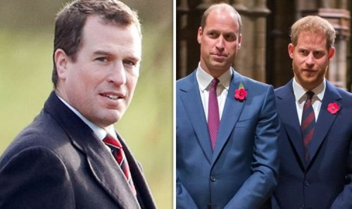 Who is Peter Philips? Royal due to walk between Harry and William at Prince Philip funeral