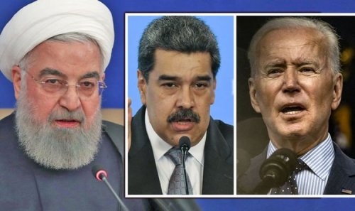 World holds breath: Iran Venezuela team up for worrying missile transfer - Biden to act
