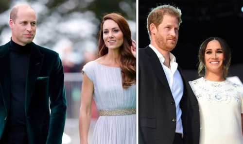 Kate and 'rockstar' William won't 'let Harry and Meghan distract them' - expert