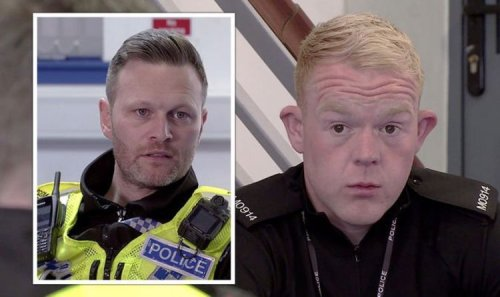 Coronation Street's Craig Tinker suspended from police force over corruption?