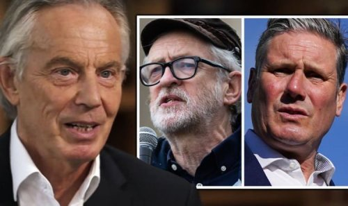 Labour humiliation: Tony Blair and Jeremy Corbyn blamed for breaking party 'beyond repair'