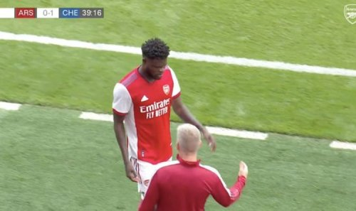 Thomas Partey suffers injury during Arsenal vs Chelsea clash - 'Might be ankle ligaments'