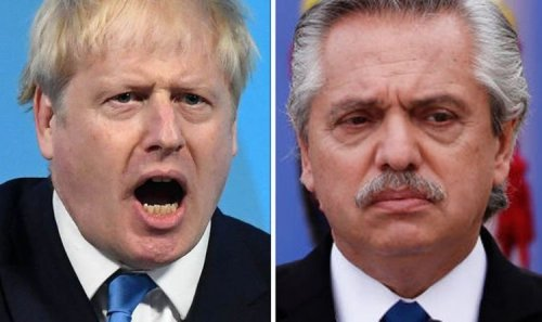 Falklands row erupts as Argentina ramps up pressure and accuses Britain of 'breaking law'