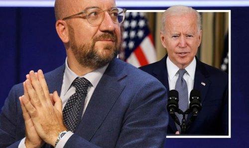 EU's Charles Michel turns guns on Joe Biden as Brussels chief vows China move