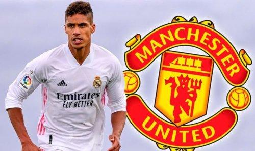Raphael Varane's Man Utd shirt number options as Red Devils submit transfer bid