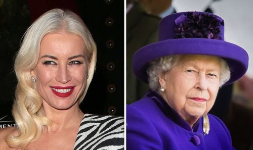 Denise van Outen's bizarre apology to Queen after stealing from Buckingham Palace