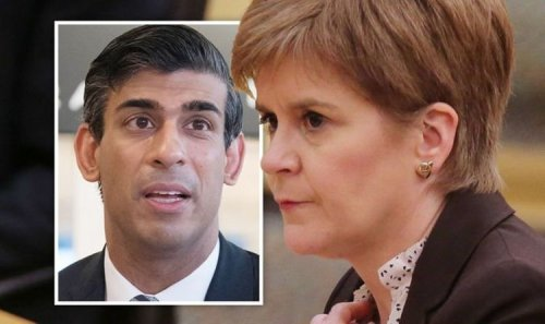 Rishi Sunak to overrule Sturgeon and give 'Union' cash after SNP snub