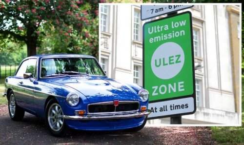 Classic car owners face a 'huge bill' of up to £650 per year to drive their cars in London