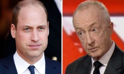 Royal fury: William followed Charles' anger with BBC's Nicholas Witchell after 'trigger'