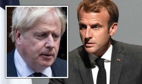Macron ready to block UK from £80bn EU programme as Brexit fishing row erupts