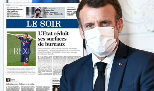 Frexit! Belgium mocks France for leaving the EU – after crashing out of Euro 2020