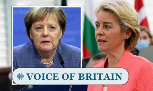 'Germans fed up of funding Brussels!' Merkel exit will be the end of EU, Britons predict