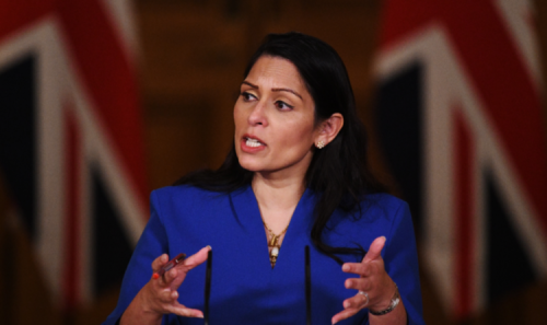 Priti Patel in talks with Denmark over opening asylum seeker processing centre in AFRICA