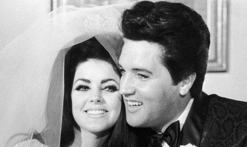 Elvis Presley's wedding tuxedo was inspired by his movie career