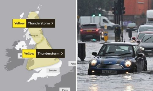 UK flood map live: Where will it flood in the UK this week?