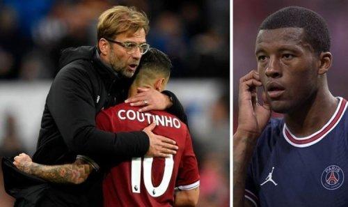 Gini Wijnaldum comments prove Liverpool boss Jurgen Klopp was right over Coutinho warning