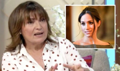 'Americans are direct!' Lorraine hints at reason royal staff didn't get on with Meghan