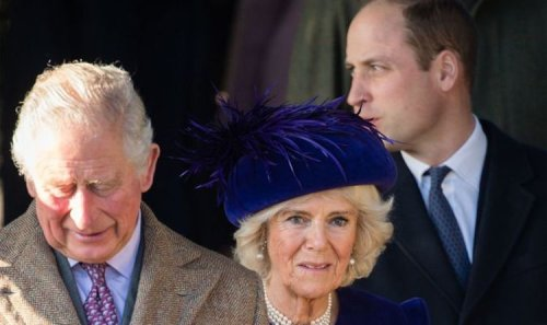 Camilla had hysterical reaction to first unplanned meeting with Prince William