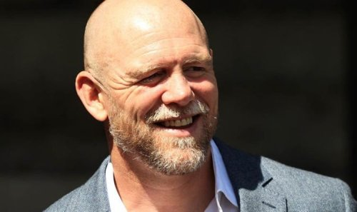 Mike Tindall looks unrecognisable in throwback photo as he shares hilarious reaction