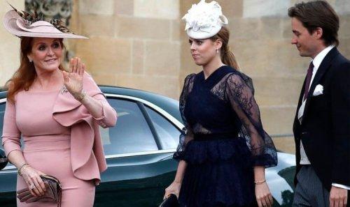 Sarah Ferguson opens up on Princess Beatrice and Edoardo's 'intimate' wedding
