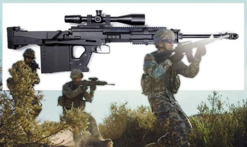 SAS armed with new rifle capable of blasting helicopters out of sky