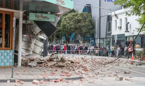 Melbourne earthquake: Buildings destroyed as Australian city rocked by 6.0 magnitude quake