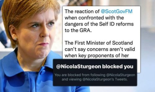 Nicola Sturgeon under fire after 'not valid' women's concerns comments