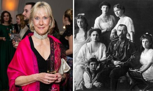 Is Olga Romanoff linked to the Russian royal family?