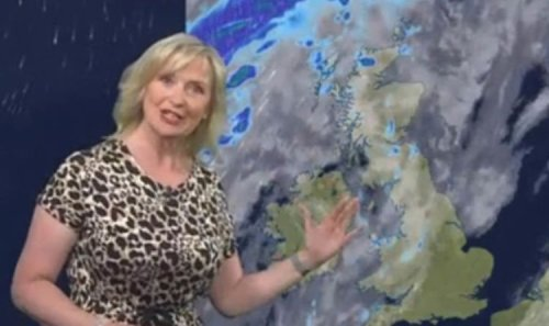 BBC Weather: Carol Kirkwood warns Brits to brace for temperature drop as conditions worsen