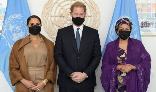 Harry and Meghan meet UN Secretary General ahead of Central Park 'virtue-signalling' event