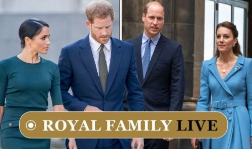 Royal Family LIVE: Kate and William may 'strike back' as Harry and Meghan 'take control'