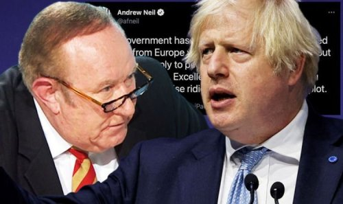 Andrew Neil not coming back to Britain as he blasts Boris 'Lost the plot!