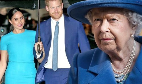 Queen's leadership hailed after Royal Family hit with a 'grenade' from Meghan and Harry