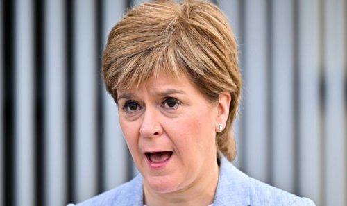 Sturgeon issued with court warning! Burnham warns SNP chief she's on 'shaky ground'