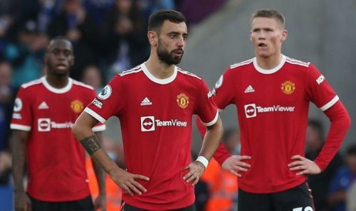 Man Utd star Bruno Fernandes breaks silence after Leicester defeat with promise to fans