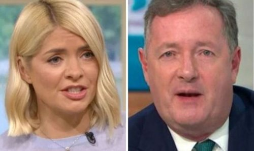 Holly Willoughby shuts down Piers Morgan's GMB offer in brutal swipe 'Won't be there'