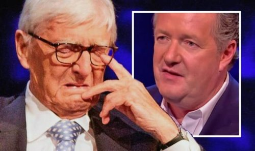 Michael Parkinson on breaking down to Piers Morgan over death 'Thought I was over it'