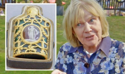 Antiques Roadshow expert details how gold bottle could be worth double initial valuation