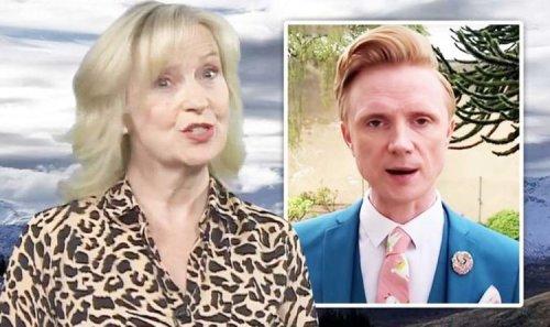 Carol Kirkwood's 'best weather presenter' challenge from 'heir apparent' Owain Wyn Evans