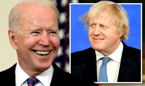 Brexit Britain 'would gain £13.5bn from Joe Biden's tax reforms' in boost to Boris' plans