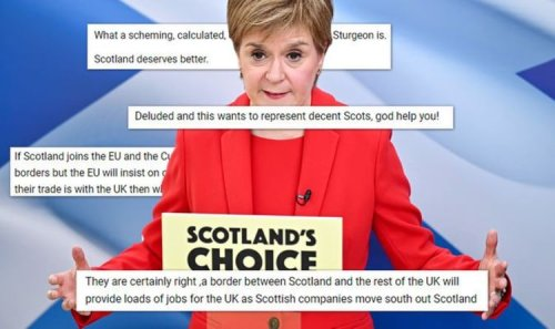 SNP ridiculed over 'deluded' England-Scotland border: 'Be careful what you wish for!'