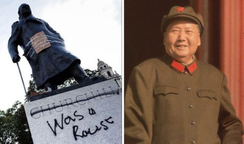 Churchill 'woke' brigade dubbed 'cultural desecration' by historian: 'Respect his career!'