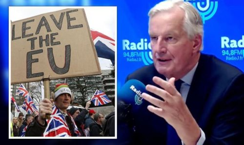 EU exit fears! Barnier unveils plot to discredit Brexit and scare countries into staying
