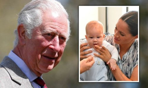 Prince Charles extends olive branch to Prince Harry with touching Archie message