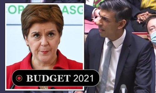 Rishi Sunak unveils Scotland spending plans - Sturgeon independence strategy skewered