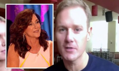 Dan Walker confesses he's 'still recovering' from Shirley Ballas comment on Strictly