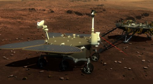 China Successfully Lands on Mars, Preps Rover for Deployment - ExtremeTech
